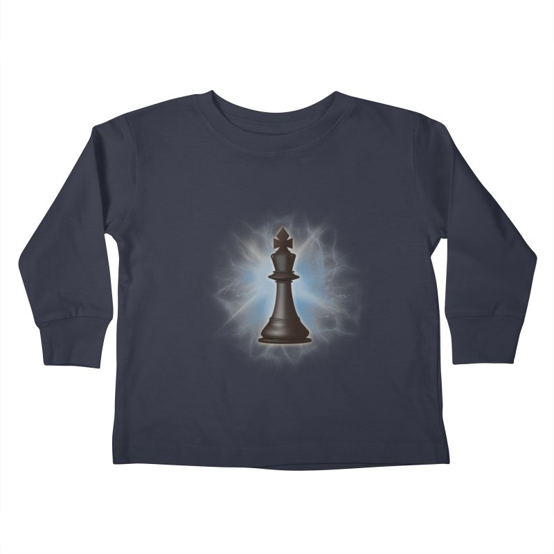 Chess King Kids Toddler Longsleeve T-Shirt by yavuzkorpefiliz's Artist Shop