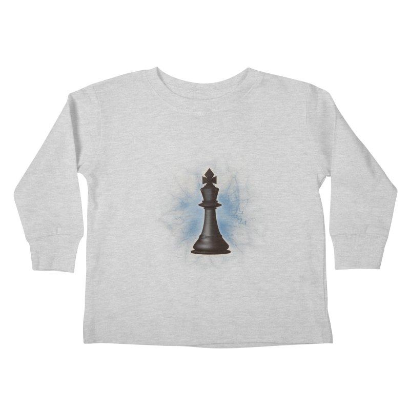 Chess King Kids Toddler Longsleeve T-Shirt by yavuzkorpefiliz's Artist Shop