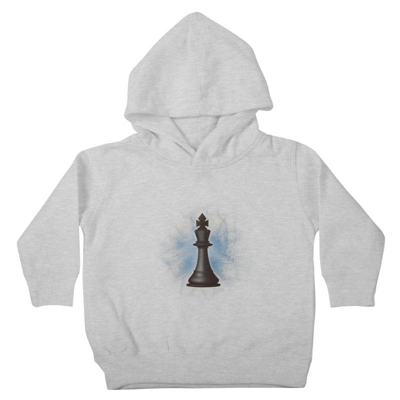Chess King Kids Toddler Pullover Hoody by yavuzkorpefiliz's Artist Shop