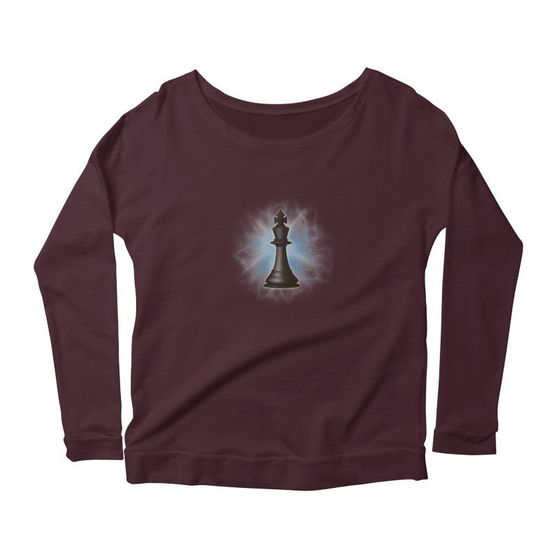 Chess King Women's Longsleeve T-Shirt by yavuzkorpefiliz's Artist Shop