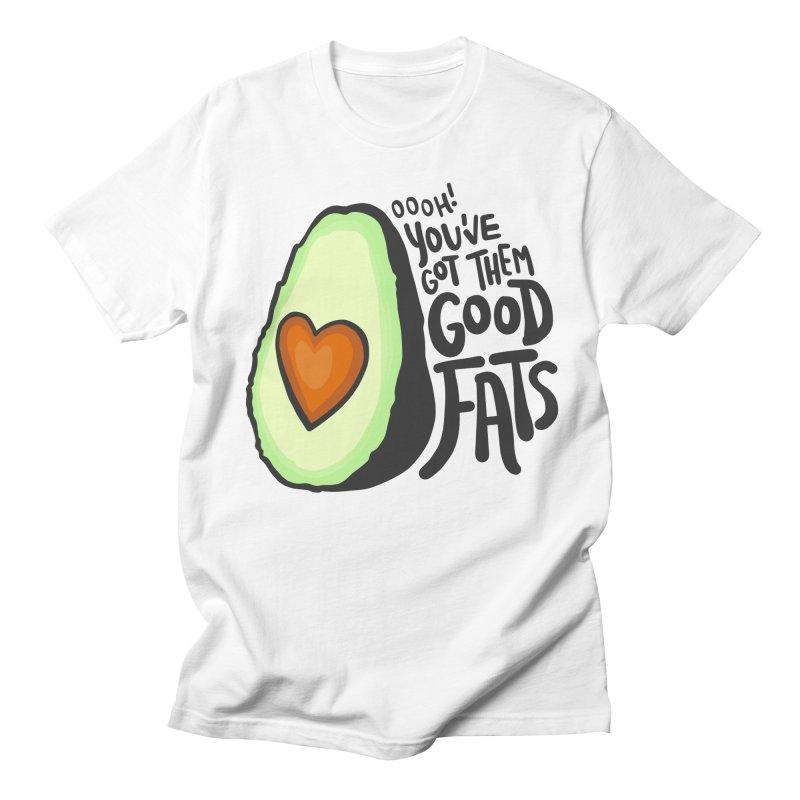 Good Fats Women's Regular Unisex T-Shirt by LAURA SANDERS