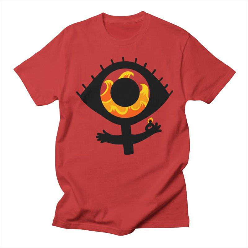 Burn it Down Men's Regular T-Shirt by LAURA SANDERS