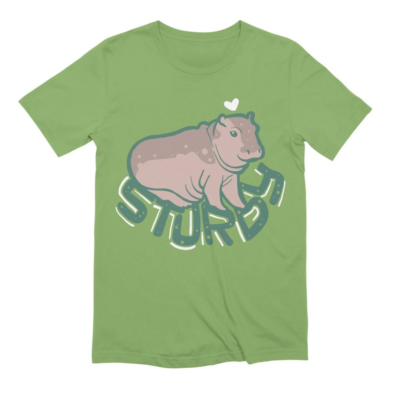 Sturdy Men's Extra Soft T-Shirt by LAURA SANDERS
