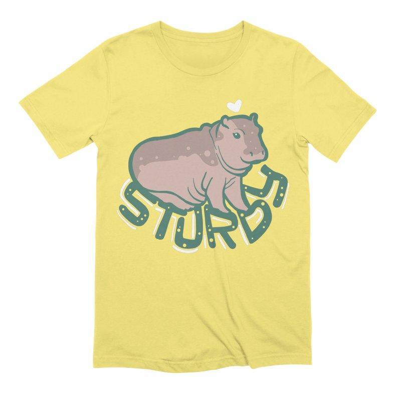 Sturdy Men's T-Shirt by LAURA SANDERS