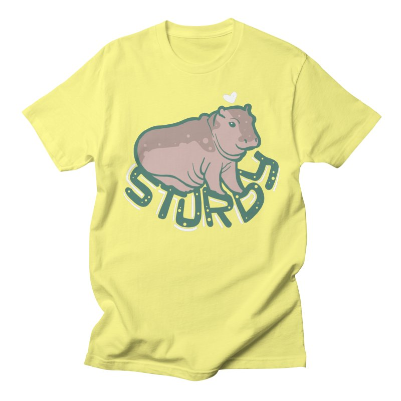 Sturdy Men's T-Shirt by LAURA SANDERS