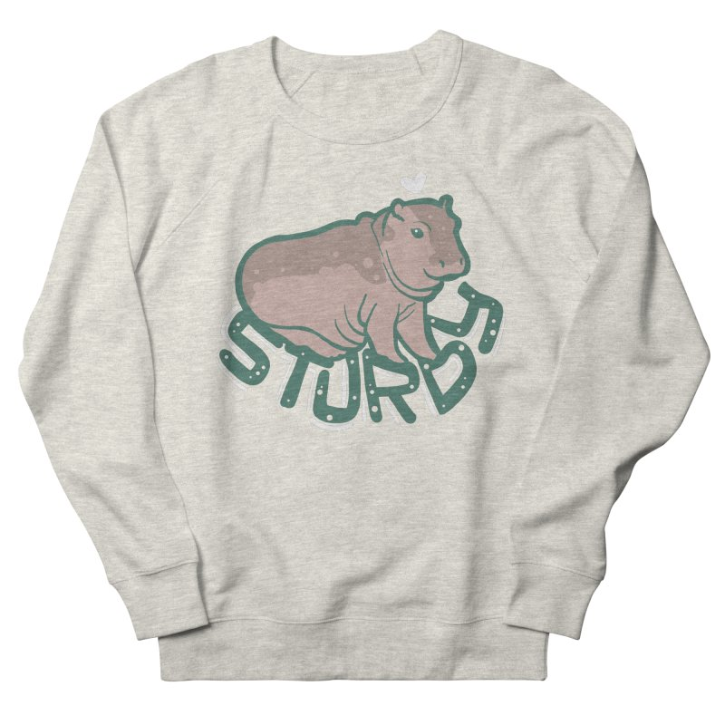 Sturdy Women's French Terry Sweatshirt by LAURA SANDERS