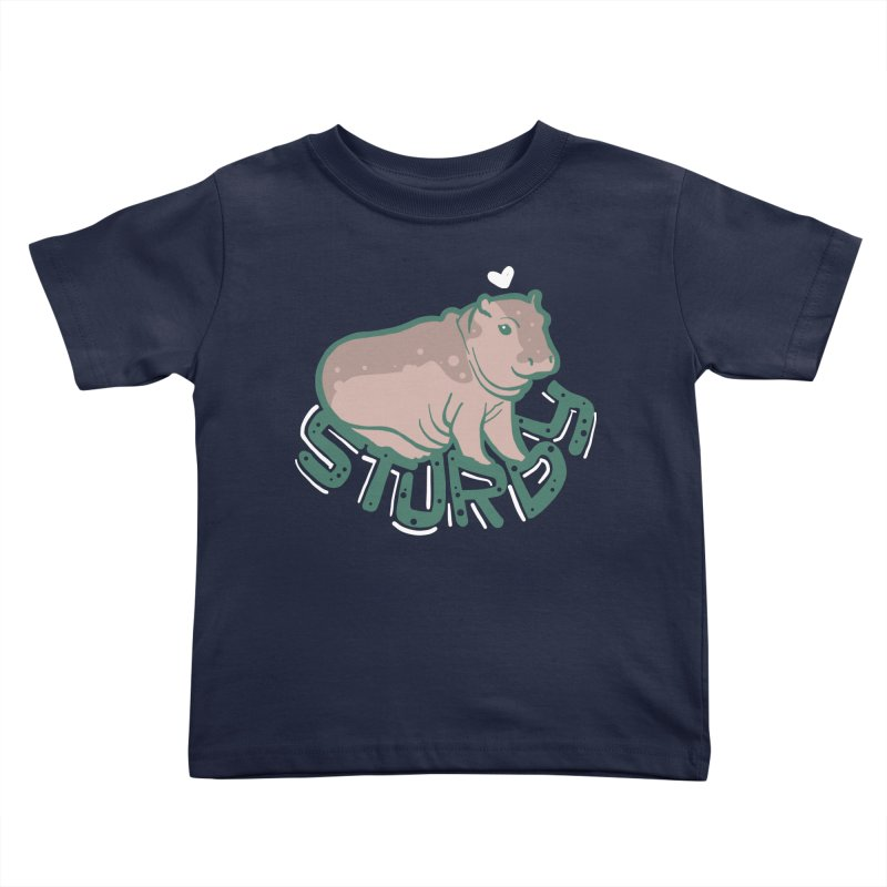 Sturdy Kids Toddler T-Shirt by LAURA SANDERS