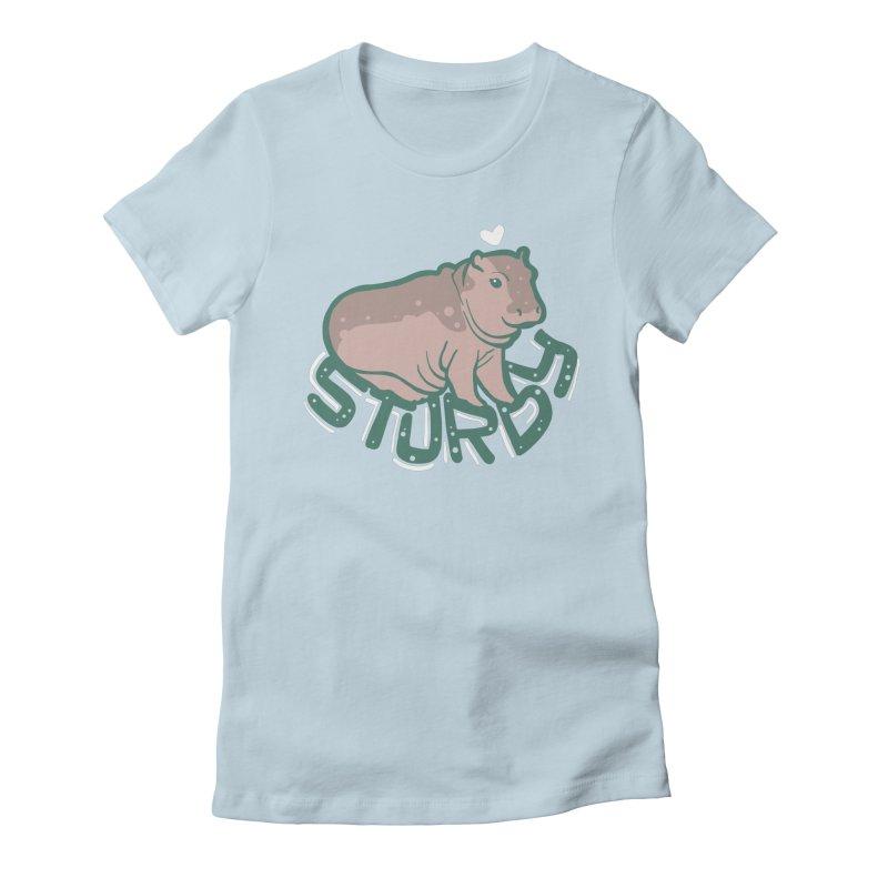 Sturdy Women's T-Shirt by LAURA SANDERS