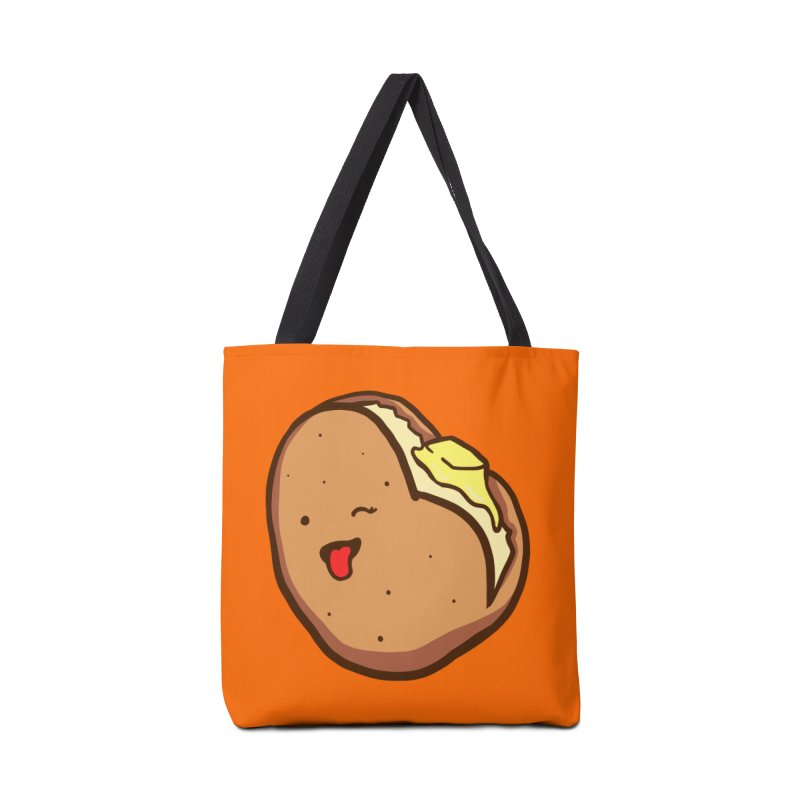 I Da Ho Potato Accessories Tote Bag Bag by LAURA SANDERS