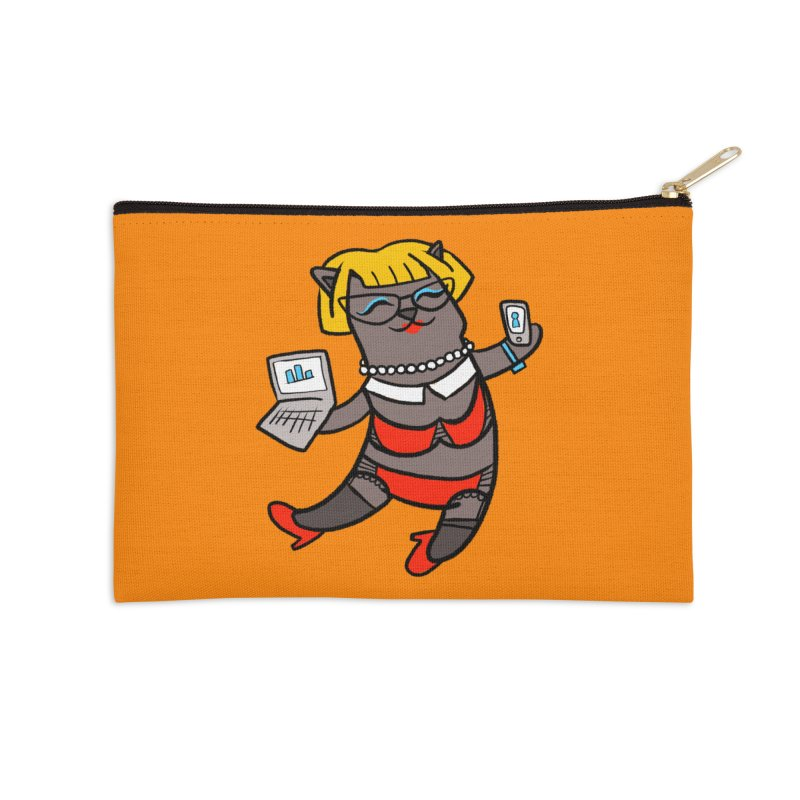 Slutty Human Costume Accessories Zip Pouch by LAURA SANDERS