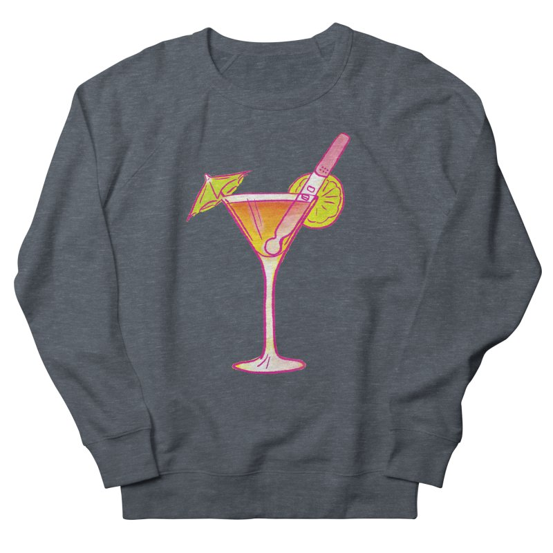 Close Call Cocktail Women's French Terry Sweatshirt by LAURA SANDERS