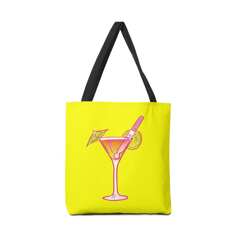 Close Call Cocktail Accessories Tote Bag Bag by LAURA SANDERS