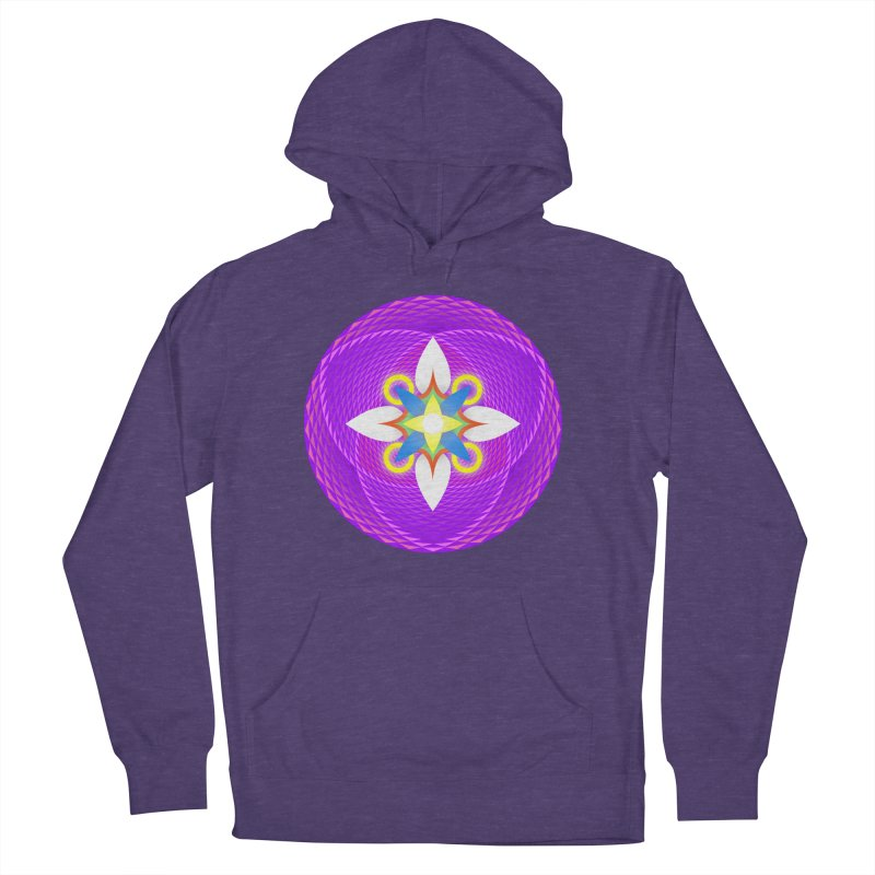 Flower in the space of meditation Men's Pullover Hoody by Universe Deep Inside