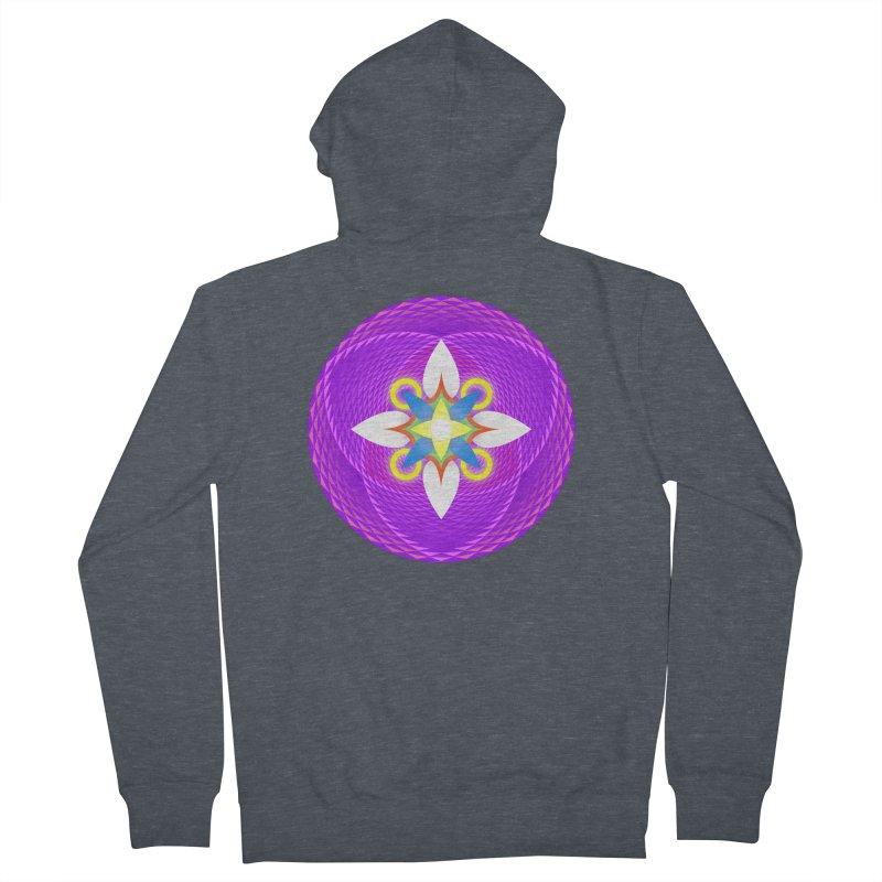Flower in the space of meditation Women's Zip-Up Hoody by Universe Deep Inside