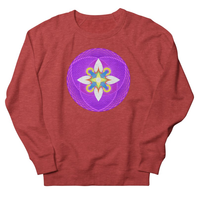 Flower in the space of meditation Men's Sweatshirt by Universe Deep Inside