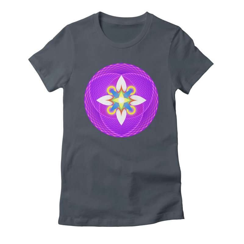 Flower in the space of meditation Women's T-Shirt by Universe Deep Inside