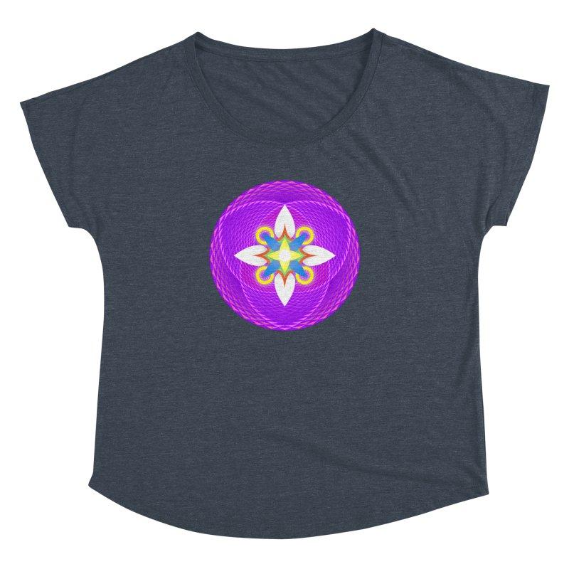 Flower in the space of meditation Women's Dolman by Universe Deep Inside