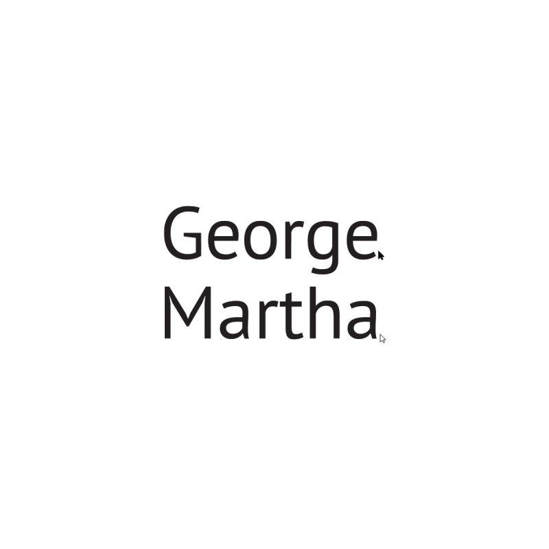 George and Martha Accessories Notebook by Yearbooking is easy