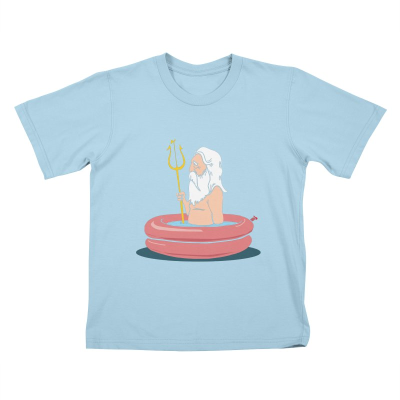 On Vacation Kids T-Shirt by yeehaw's Artist Shop