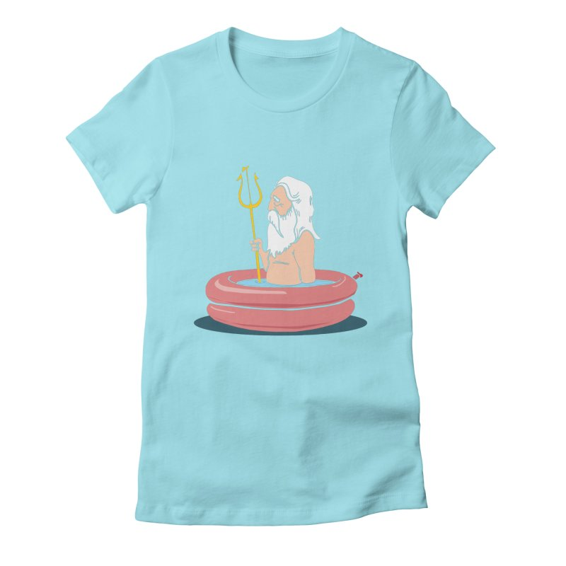 On Vacation Women's Fitted T-Shirt by yeehaw's Artist Shop