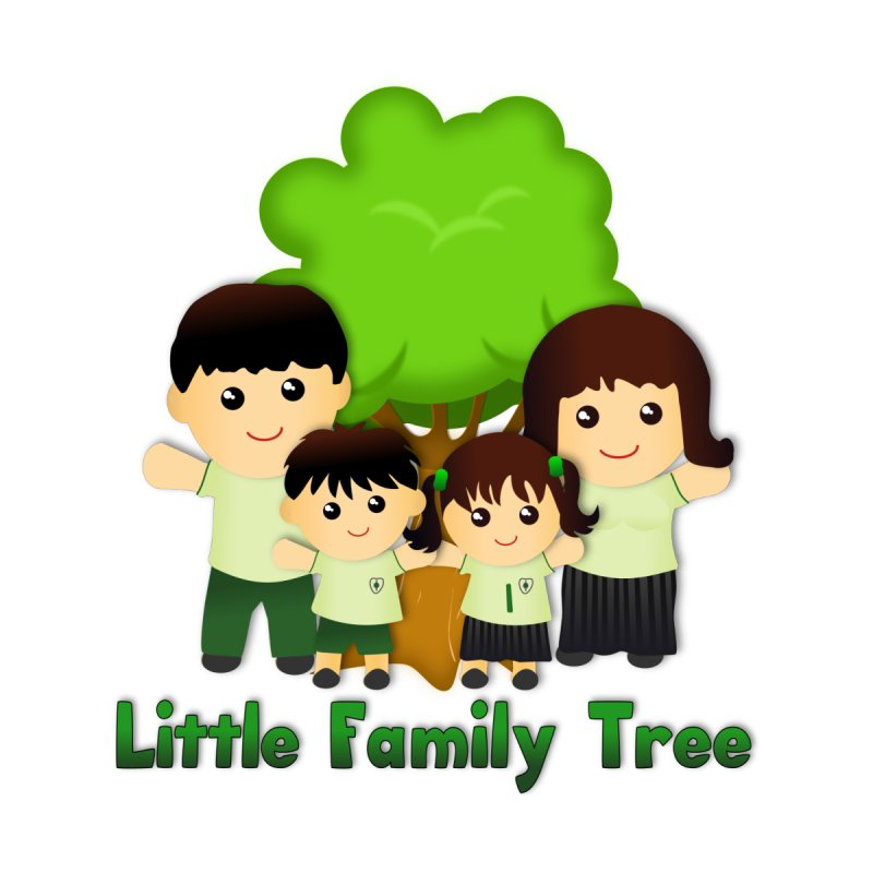 Little Family Tree Logo by Yellow Fork Tech's Shop