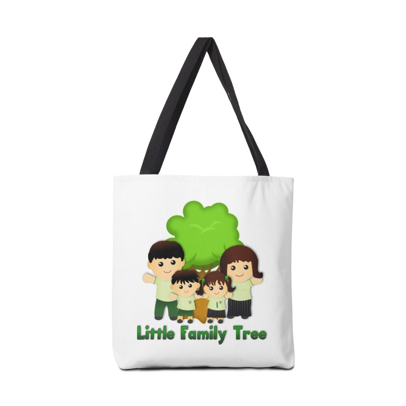 Little Family Tree Logo Accessories Bag by Yellow Fork Tech's Shop