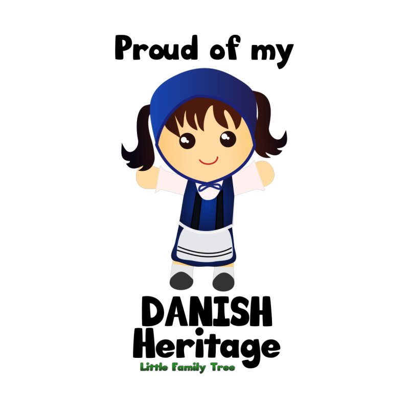 Danish Heritage Girl by Yellow Fork Tech's Shop