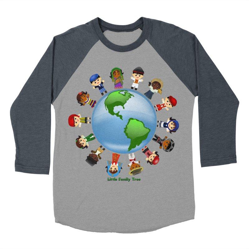 Global Ancestors Women's Baseball Triblend T-Shirt by Yellow Fork Tech's Shop