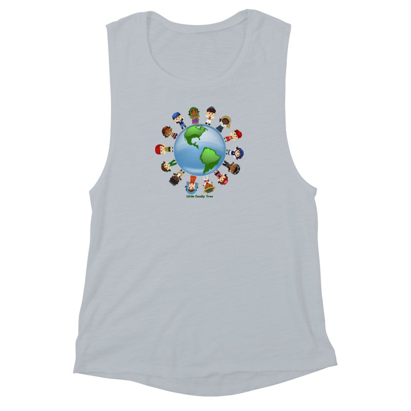 Global Ancestors Women's Muscle Tank by Yellow Fork Tech's Shop
