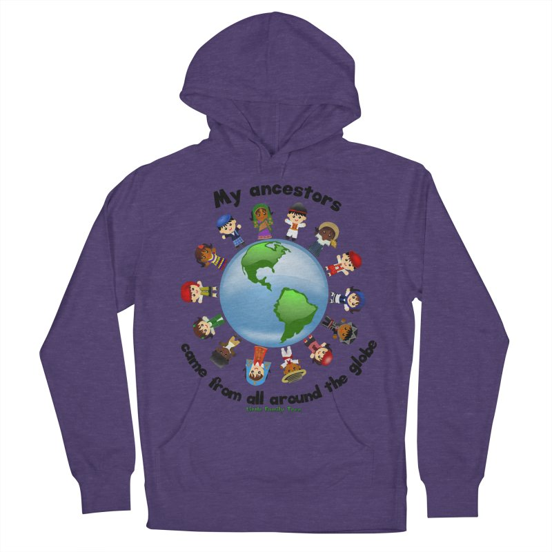 Global Ancestors with words Women's Pullover Hoody by Yellow Fork Tech's Shop