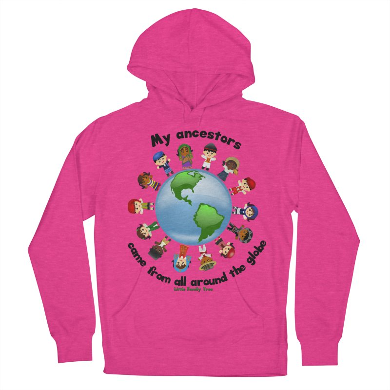 Global Ancestors with words Men's Pullover Hoody by Yellow Fork Tech's Shop