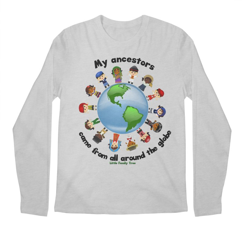 Global Ancestors with words Men's Longsleeve T-Shirt by Yellow Fork Tech's Shop