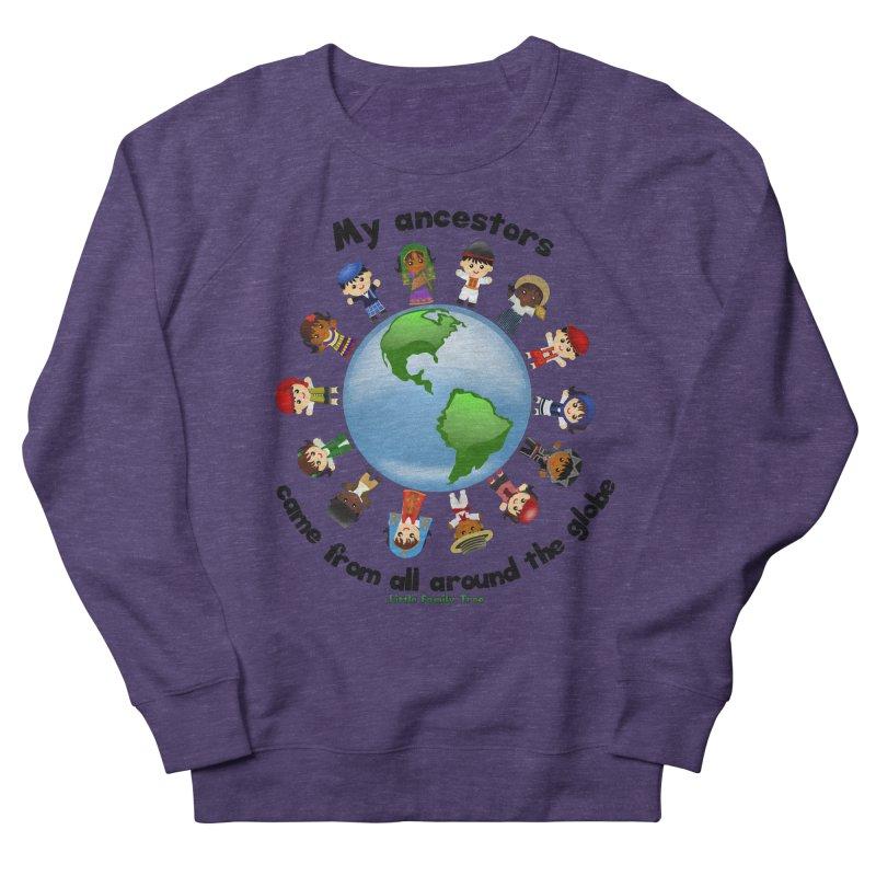 Global Ancestors with words Women's Sweatshirt by Yellow Fork Tech's Shop