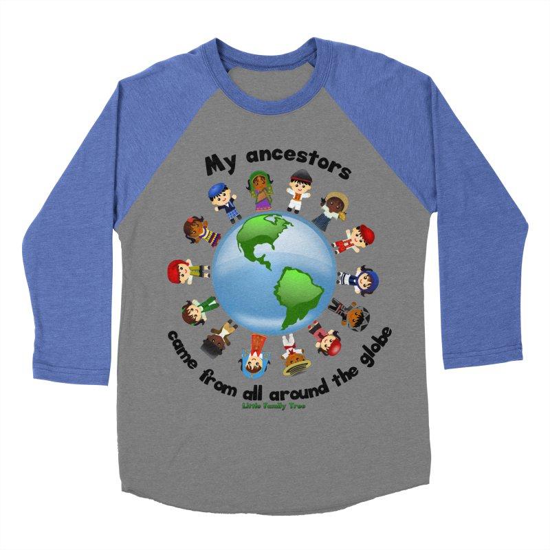 Global Ancestors with words Women's Baseball Triblend T-Shirt by Yellow Fork Tech's Shop