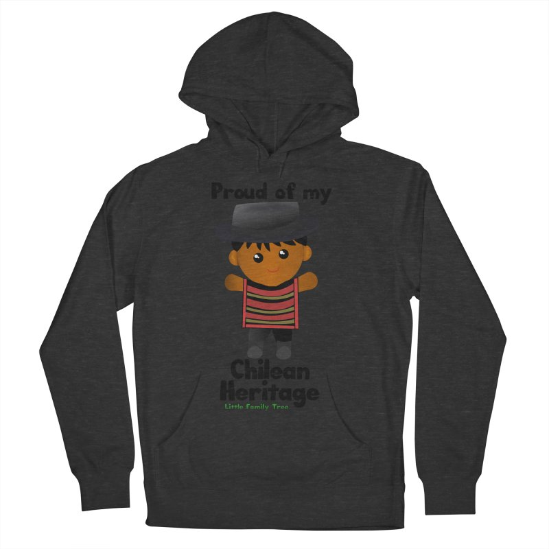 Chilean Heritage Boy Men's Pullover Hoody by Yellow Fork Tech's Shop