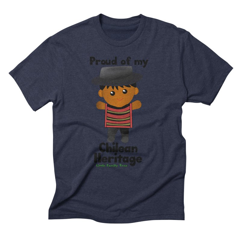 Chilean Heritage Boy Men's Triblend T-Shirt by Yellow Fork Tech's Shop