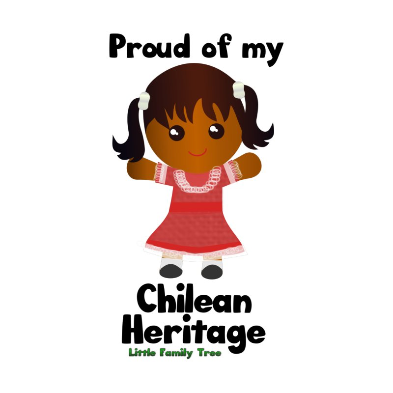 Chilean Heritage Girl by Yellow Fork Tech's Shop
