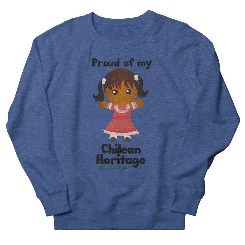 Chilean Heritage Girl Women's Sweatshirt by Yellow Fork Tech's Shop