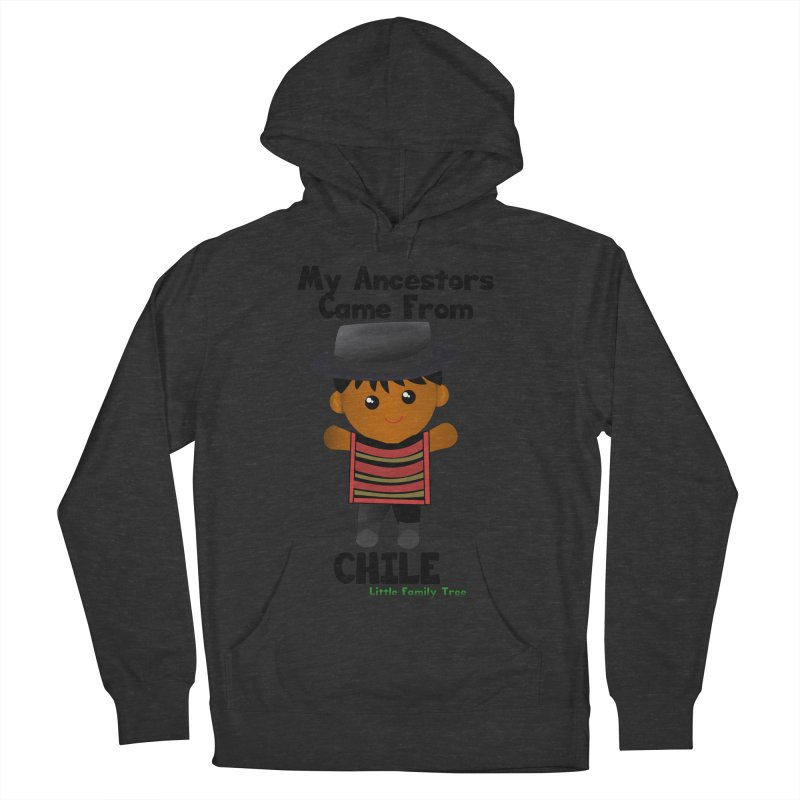 Chile Ancestors Boy Men's Pullover Hoody by Yellow Fork Tech's Shop
