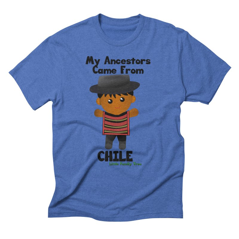 Chile Ancestors Boy Men's Triblend T-Shirt by Yellow Fork Tech's Shop