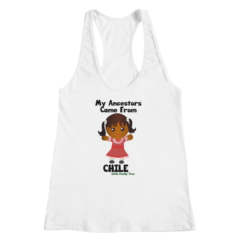 Chile Ancestors Girl Women's Racerback Tank by Yellow Fork Tech's Shop