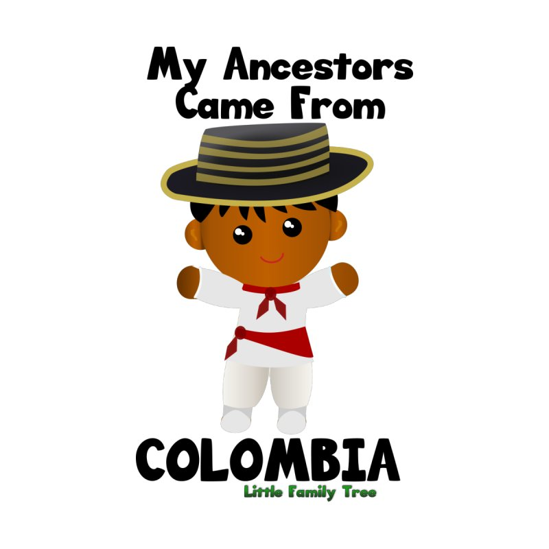 Colombia Ancestors Boy None  by Yellow Fork Tech's Shop