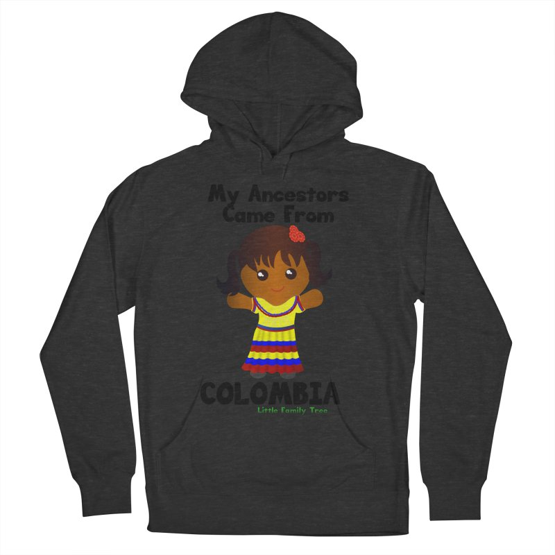 Colombia Ancestors Girl Women's Pullover Hoody by Yellow Fork Tech's Shop
