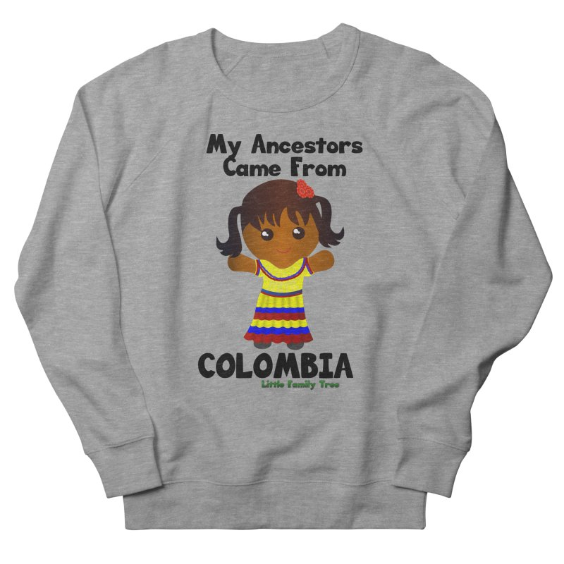 Colombia Ancestors Girl Women's Sweatshirt by Yellow Fork Tech's Shop