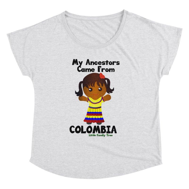 Colombia Ancestors Girl Women's Dolman by Yellow Fork Tech's Shop