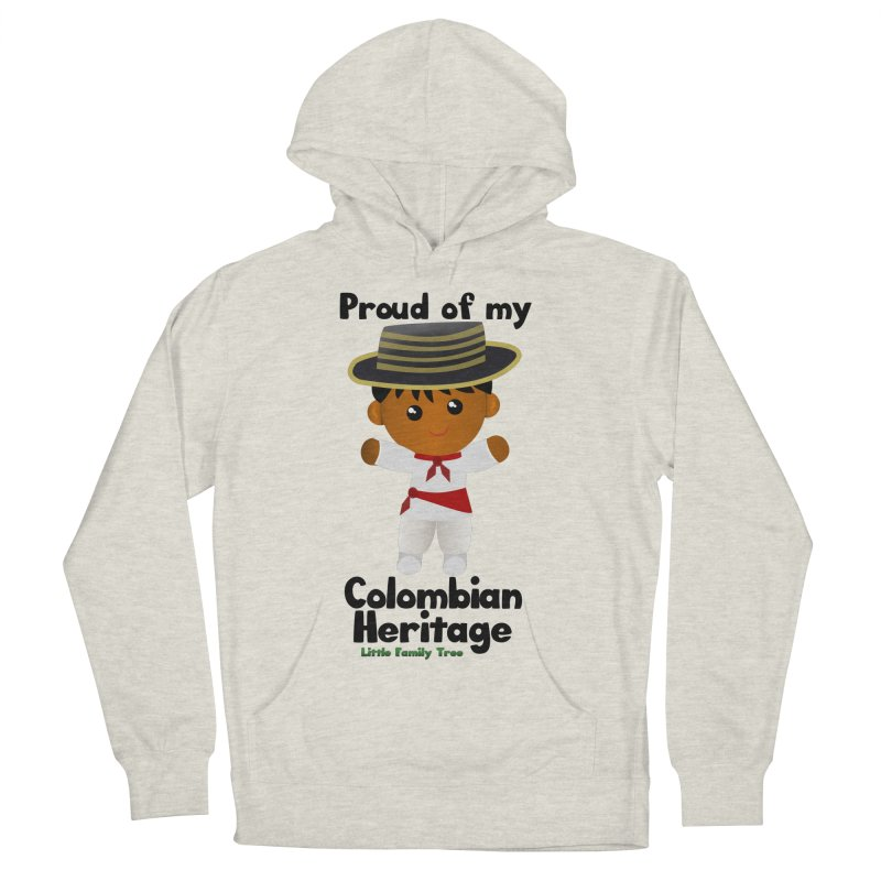 Colombian Heritage Boy Men's Pullover Hoody by Yellow Fork Tech's Shop