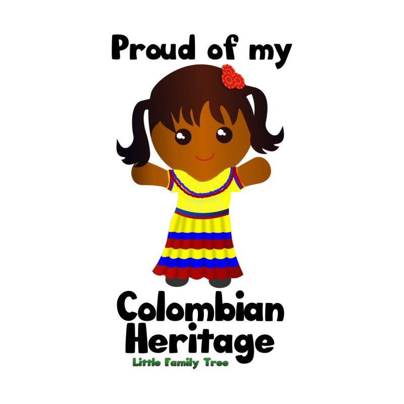 Colombian Heritage Girl by Yellow Fork Tech's Shop