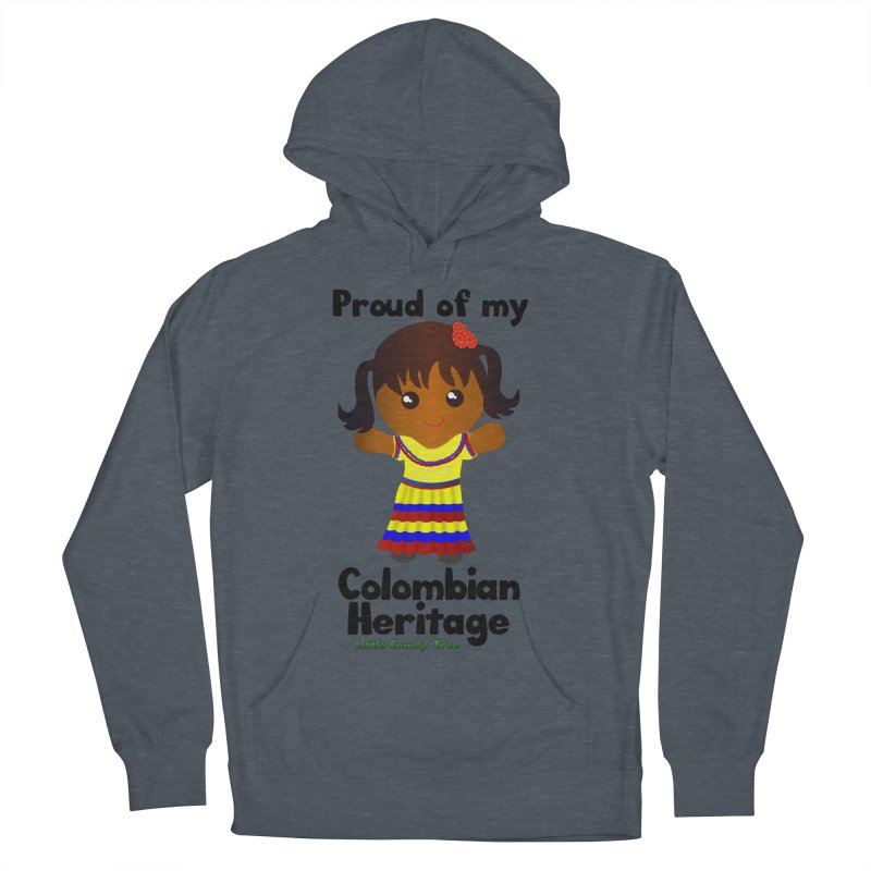 Colombian Heritage Girl Women's Pullover Hoody by Yellow Fork Tech's Shop