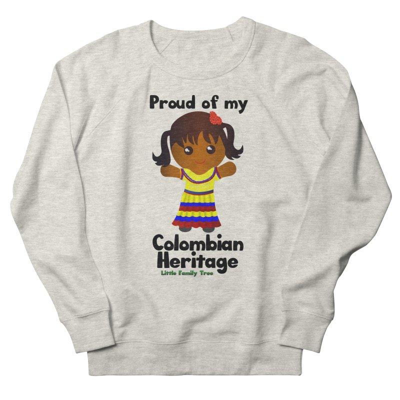 Colombian Heritage Girl Women's Sweatshirt by Yellow Fork Tech's Shop