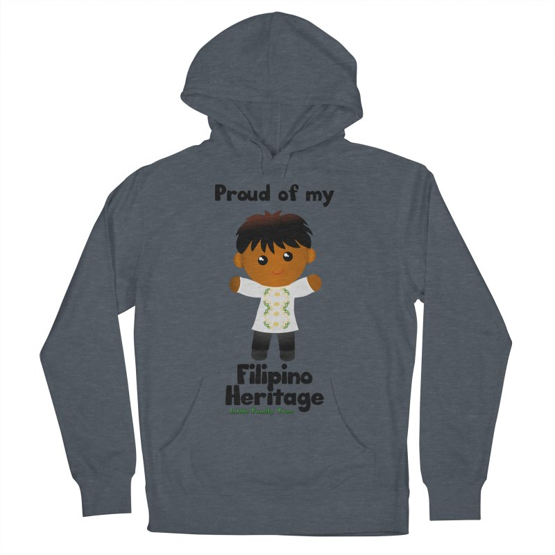 Filipino Heritage Boy Men's Pullover Hoody by Yellow Fork Tech's Shop